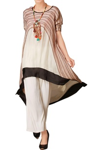 blush-pink-white-asymmetric-kurta