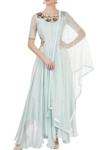 light-blue-embroidered-kurta-set