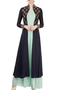 pastel-blue-maxi-with-embroidered-jacket