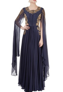 navy-blue-embroidered-gown