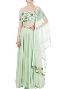 light-green-embroidered-lehenga-set