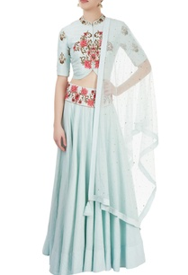 light-blue-embroidered-jacket-lehenga-set