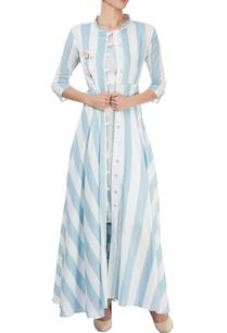 blue-dress-with-long-open-jacket
