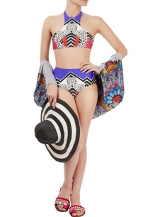 multi-colored-printed-bikini-set