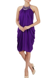 purple-draped-dress