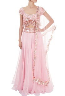 pink-lehenga-set-with-sequin-work