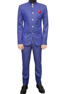 blue-bandhgala-with-zipper-details