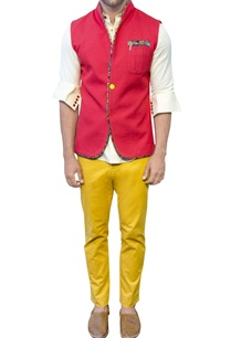 mustard-yellow-straight-pants