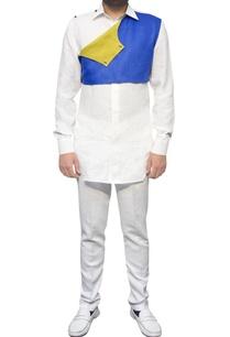 white-shirt-with-yoke