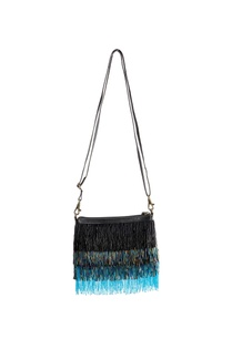 black-blue-beaded-bag