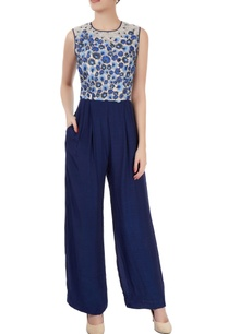 white-blue-embellished-jumpsuits