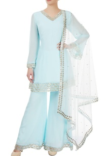 light-blue-embroidered-palazzo-set