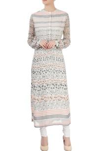 white-printed-long-kurti