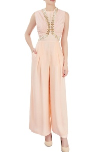 peach-embroidered-jumpsuit