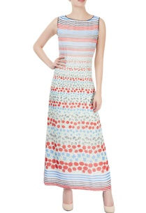 white-maxi-with-floral-print