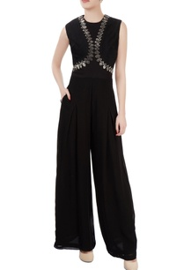black-embellished-jumpsuit
