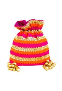 pink-orange-woven-potli