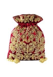 maroon-floral-embroidered-potli