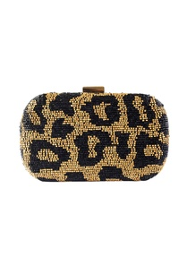 black-gold-animal-beaded-clutch