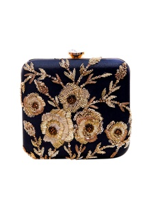 black-clutch-with-rose-embroidery