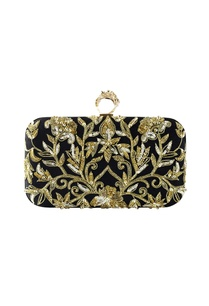 black-gold-zenia-embroidered-clutch
