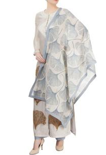 ivory-blue-printed-kurta-set-with-embroidery