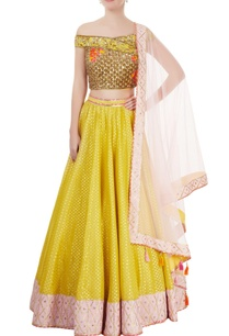yellow-rose-pink-embroidered-lehenga-set
