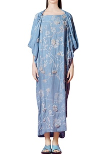 powder-blue-kaftan-with-cowl-drape