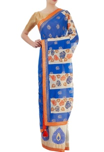 blue-off-white-sari-with-border-detailing