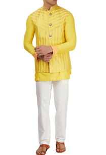 yellow-kurta-set