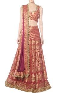 coral-red-lehenga-set-with-zardozi