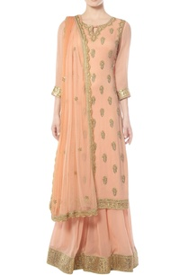peach-sharara-set-with-gota-patti-work