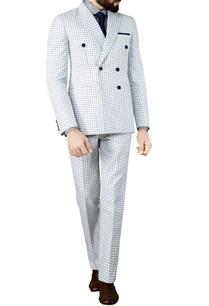 white-suit-blue-checks