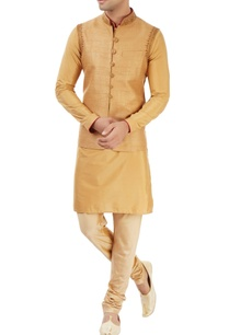 beige-kurta-set-with-nehru-jacket