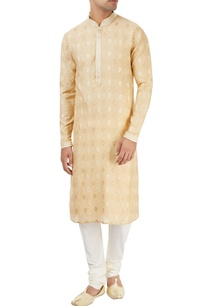 beige-kurta-with-embroidery