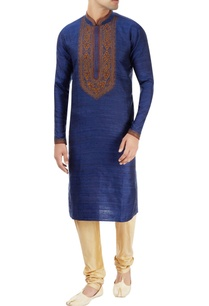 blue-kurta-with-embroidery