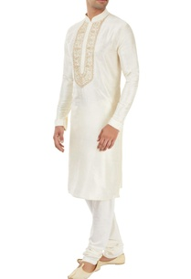 ivory-kurta-with-embroidery