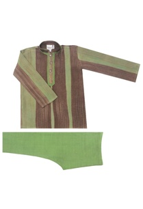 olive-brown-and-green-kurta-churidar