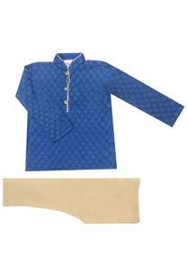 blue-embroidered-kurta-set