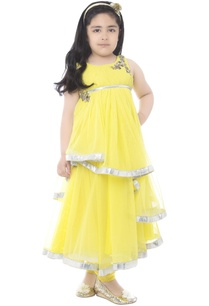 yellow-draped-anarkali-set
