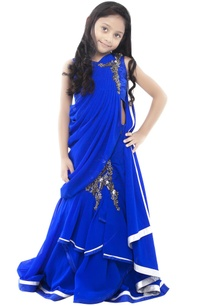royal-blue-lehenga-gown