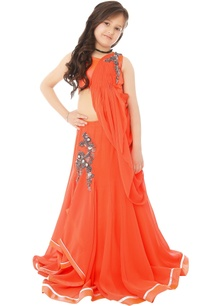 orange-lehenga-gown-with-bead-embroidery
