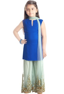 blue-sequined-sharara-set