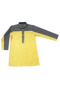 sulphur-griffin-color-blocked-kurta