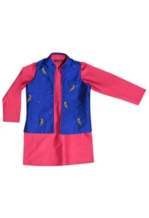 pink-kurta-with-jacket