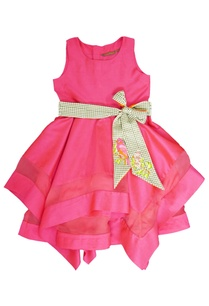 fuschia-dress-with-a-belt
