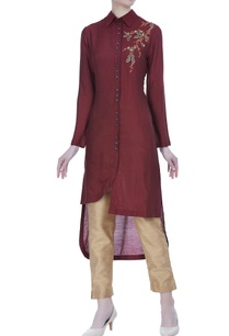 asymmetric-hemline-tunic-with-motif-embroidery