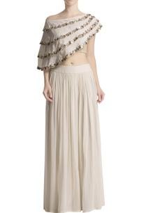 white-palazzo-set-with-embellished-cape