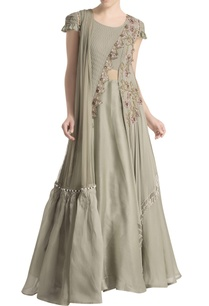 grey-draped-embroidered-anarkali-set