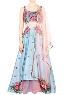 vista-blue-embroidered-bridal-lehenga-set